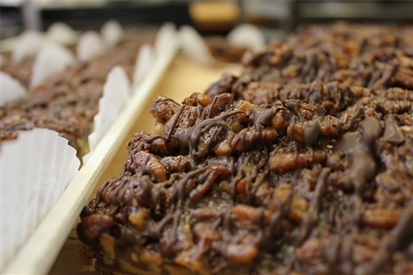 Pecan Diamond Bars