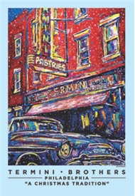 Termini Bros By John Stango Holiday Poster